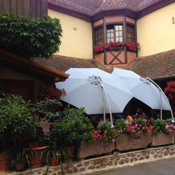Terrasse du Restaurant Suzel